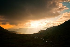 Passing Storm by taffmeister