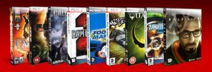 Game DVD Icons by b0bd0gz