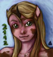 human-pony commission by ankin