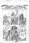 Teen Titans 71 p.13 pencils by Cinar