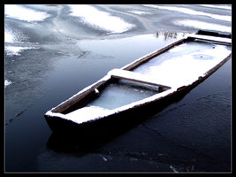 Frozen Boat by mtw-dos