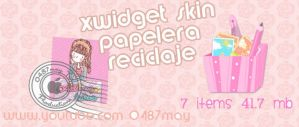 Papelera de Reciclaje, xiwdget skin by may0487