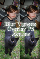 Blur Vign. Ovrly PS Action Set by GillianIvy