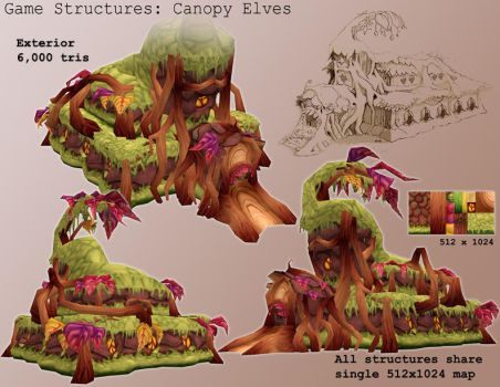 Game Model - CE Library Hall by gronch