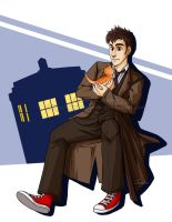 Doctor Who and Friend by ToastyToastie