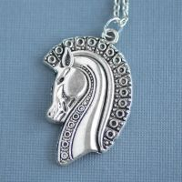 War Horse Necklace by MonsterBrandCrafts