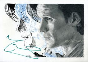 Matt Smith - Signed by MeikeZane
