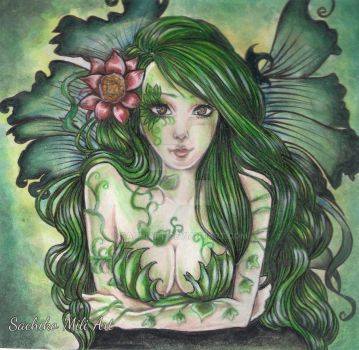 Deep Green by sachiart