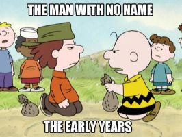 Charlie Brown is the man with no name by thearist2013