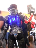 MASS EFFECT : Femshep Armor by MithriLady