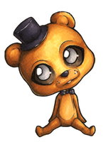 FNAF chibis 9: Golden Freddy by Forunth