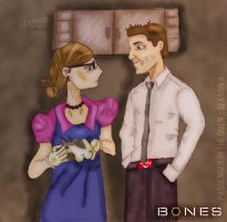 Booth and Bren- PITO-S4 by jdDoodles
