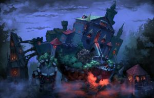 Howl's Moving Castle by isso09