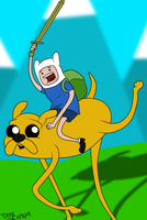 Adventure Time by TateShaw