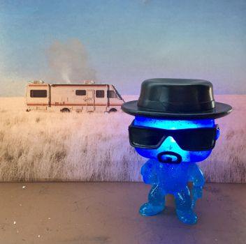 Crystal Heisenberg Funko Pop with Lights by tool8smart