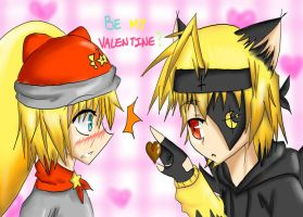 Be my Valetine? by YuunCatravis