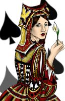 The Queen of Spades by quoth-le-corbeau