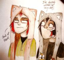 Furry hats by PandorasBox341