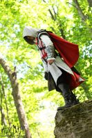 AC II: Ezio Auditore da Firenze (Shoot #2) #6 by AilesNoir