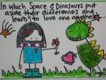 Space and Dinosaurs by michelle0428