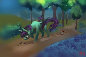 Tracking the prey by Alumx