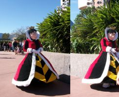 WDW Character: Queen of Hearts by wilterdrose-stock