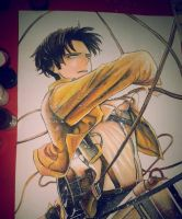 Rivaille / Levi Shingeki no Kyojin by antipatika-haxor