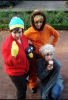 South Park Cosplay: trio by XMenouX
