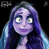 Emily Portrait- Corpse Bride by Andersiano
