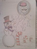 Winter time by quart--knee