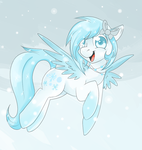 SnowFeather by Lustrous-Dreams