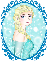 The True Queen of the Ice and Snow by ruzovymonster