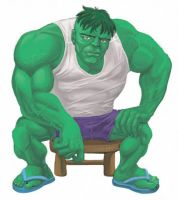 hulk by laurides