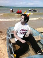 Beach Party in Sea Hitler's Boat That's Not His by Ava-Cosplay