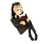 Books Are Loki by MiningCazzy