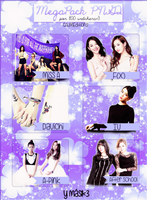 Pack PNG Kpop (800 watchers) by GAJMEditions