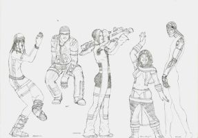 Character Designs 3 by LogicDreams