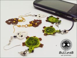 Earrings by Sulless