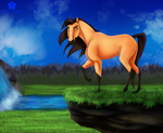 Spirit - The Stallion of the Cimarron by Bella-Colombo