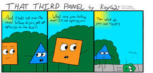 That Third Panel - More Friends #12 by Roy4242