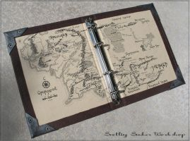 Notebook Middle Earth by Svetliy-Sudar
