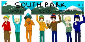 Thanks for 1,000 pageviews ! by Oyakiss