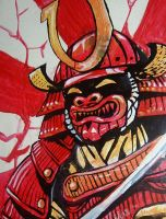 Kabuto Warrior by jether