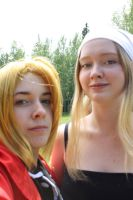 Edward and Winry by parodykids