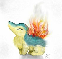 Cyndaquil by Saphira76