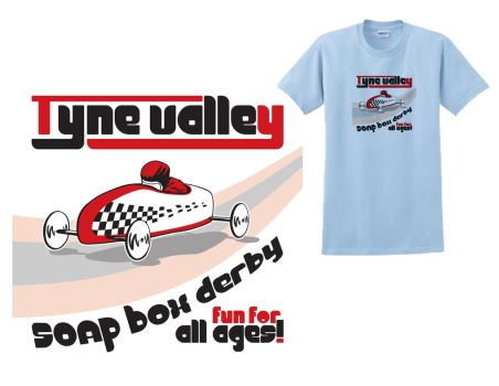 Soap Box Derby Tee by StepFar
