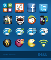 DELL Icons II by dellustrations
