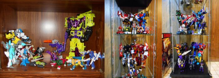 My Transformers Display Cases by Air-Hammer