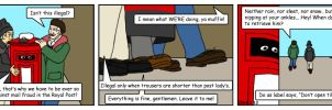 Summer Wine Comic 45 by MST3Claye