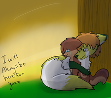 Ill always be here for you by MissKittens